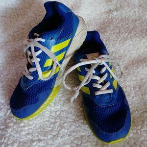 Boy's Adidas blue shoes